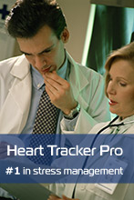 Heart Tracker Professional is choice #1 of professioinals in stress management